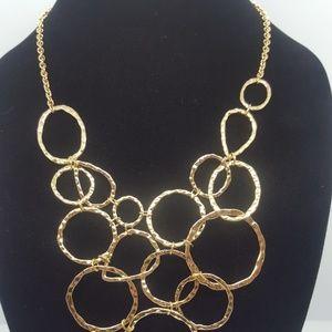 INC Gold-Tone Bib Necklace NEW